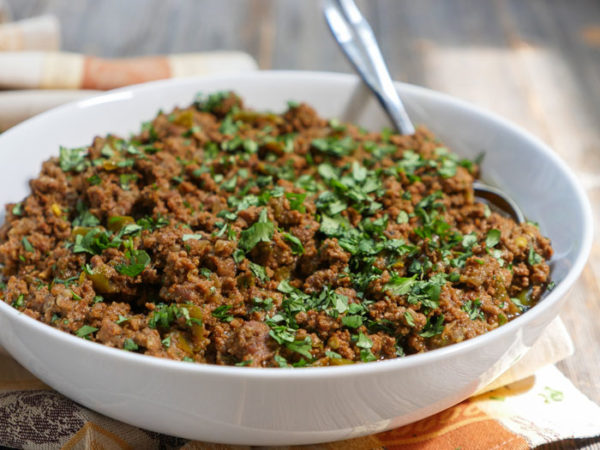 Instant Pot Taco Meat by Ashley of MyHeartBeets.com