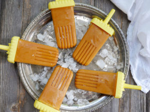 Golden Milk Popsicles