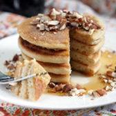 Paleo Pancakes by Ashley of MyHeartBeets.com