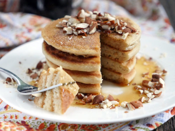 Paleo Pancakes by Ashley of MyHeartBeets.com