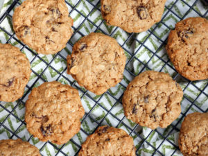 Oatmeal Raisin Lactation Cookies by Ashley of MyHeartBeets.com