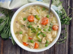 Chicken Pot Pie Soup (Paleo)