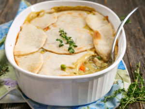 Paleo Chicken Pot Pie Casserole
