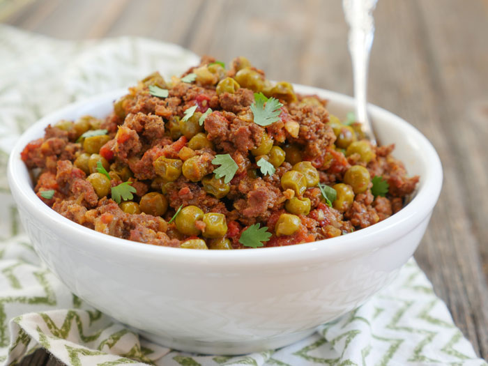 Instant Pot Keema Recipe by Ashley of MyHeartBeets.com