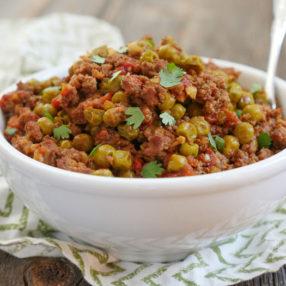 Instant Pot Keema Recipe by Ashley of MyHeartBeets.com