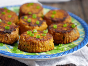 Spicy Tuna Pumpkin Patties