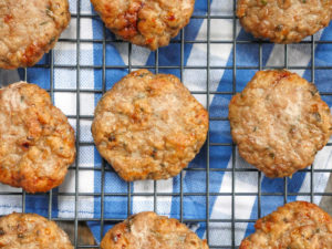 Baked Turkey Sausage Patties