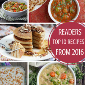 Top 10 Recipes from 2016 - by Ashley of MyHeartBeets.com
