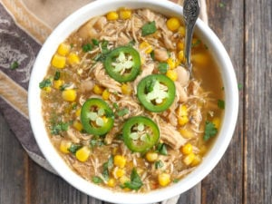 White Chicken Chili (Instant Pot and Slow Cooker)