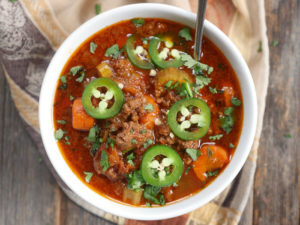 Ground Beef Chili (Instant Pot & Slow Cooker)