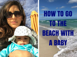 Tips for Traveling to the Beach with an Infant