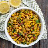 Indian Bean Salad by Ashley of MyHeartBeets.com