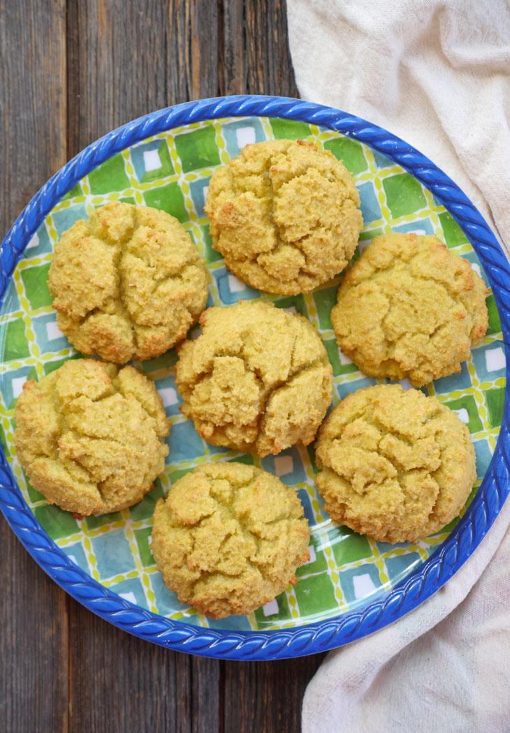 4-ingredient Coconut Flour Biscuits (Gluten-free, Paleo ...