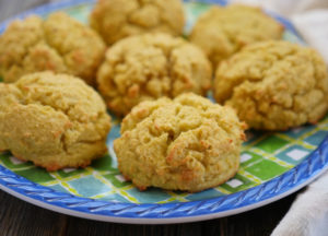 4-ingredient Coconut Flour Biscuits