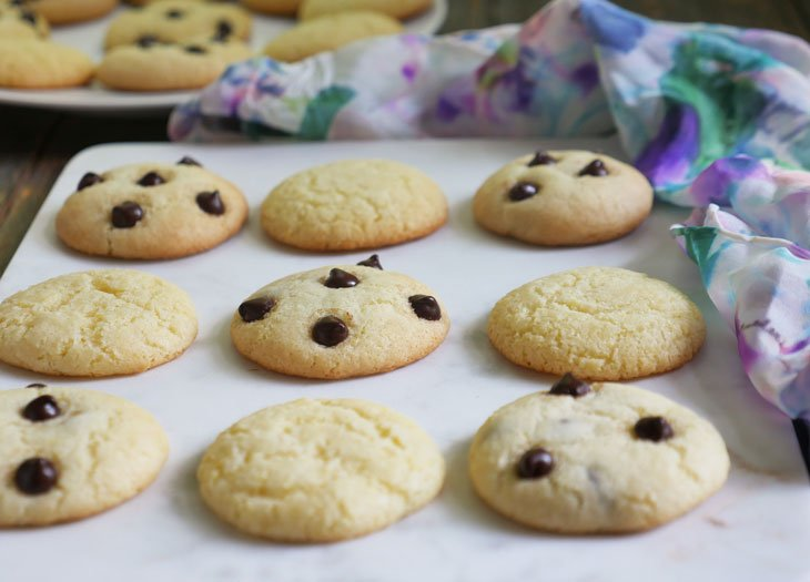 Gluten Free Cake Mix Cookies by Ashley of MyHeartBeets.com