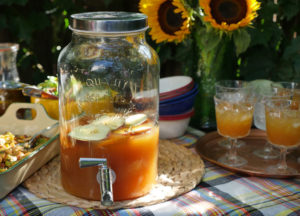 Chilled Apple Cider Punch