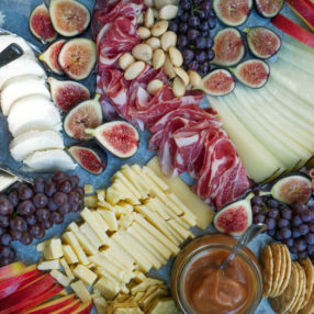 Fall Cheese Board by Ashley of MyHeartBeets.com