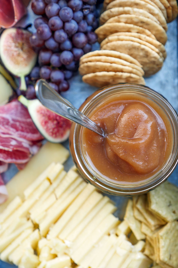 Instant Pot Apple Butter by Ashley of MyHeartBeets.com