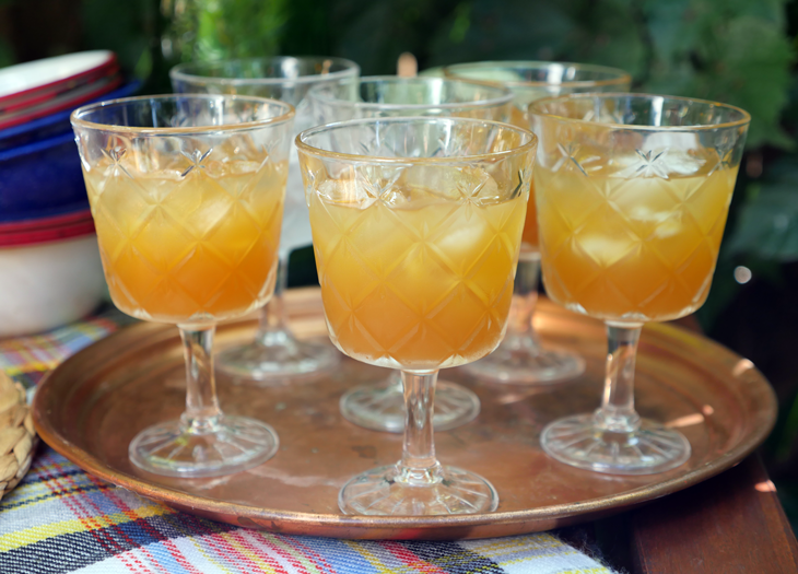 Apple Cider Punch by Ashley of MyHeartBeets.com