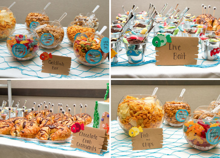 Fishing themed birthday party best fish 2017 for Fishing themed birthday