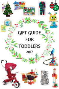 Gift guide for toddlers 2017 by ashley of myheartbeets.com