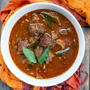 Kerala Goat Curry by Ashley of MyHeartBeets.com
