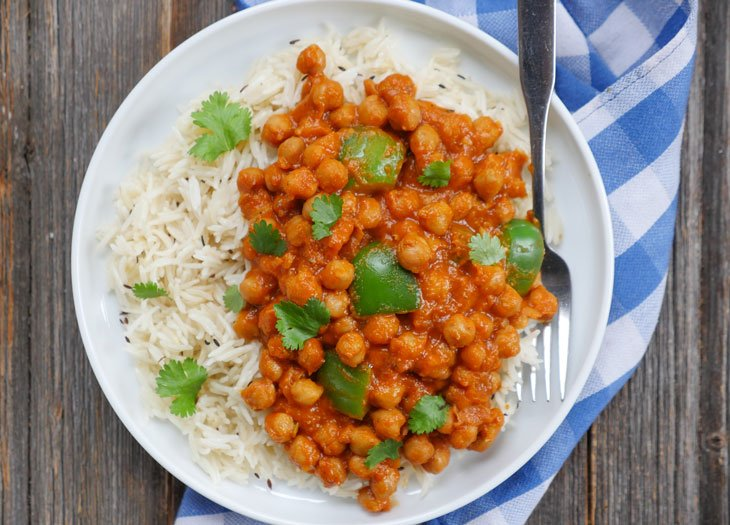 Butter Chickpeas aka Vegan Butter Chicken