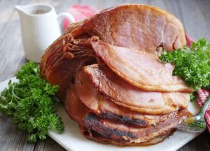 Instant Pot Ham with a Sweet Spiced Honey Glaze