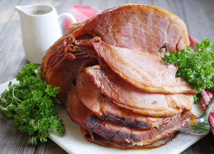 Instant Pot Ham With A Sweet Spiced Honey Glaze Video My Heart