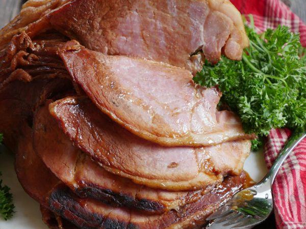 Instant Pot Ham With A Sweet Honey Glaze