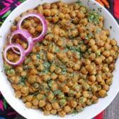 Chana Masala - Punjabi Chole (Spiced Chickpea Curry) made in an Instant Pot