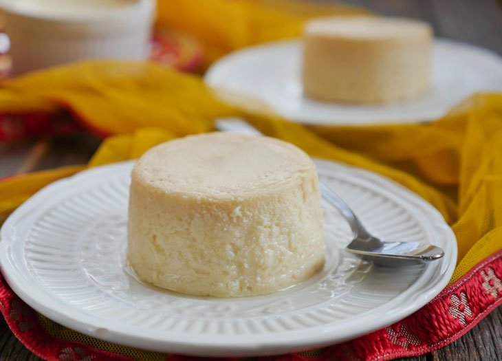 Instant Pot 2-ingredient Cheesecake (Indian Cheesecake)