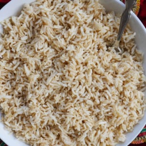Brown Basmati Rice in an Instant Pot
