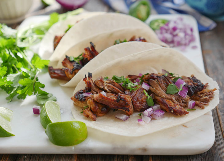 Instant Pot Carnitas by Ashley of MyHeartBeets.com