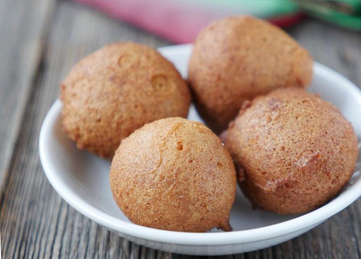 gluten-free paleo gulab jamun