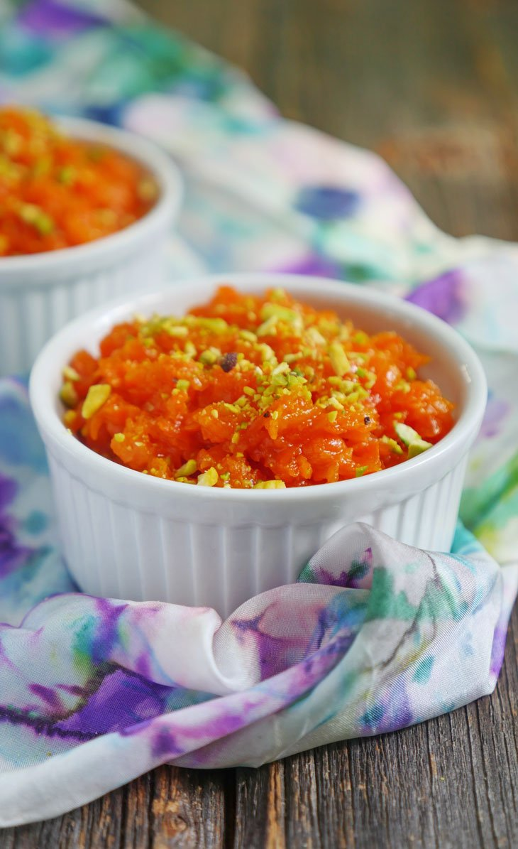 Instant Pot Gajar Halwa - carrot pudding