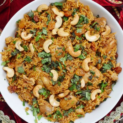 Instant Pot Chicken Biryani