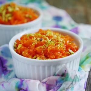 Instant Pot Gajar Halwa - carrot pudding