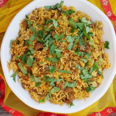 Instant Pot Keema Pulao