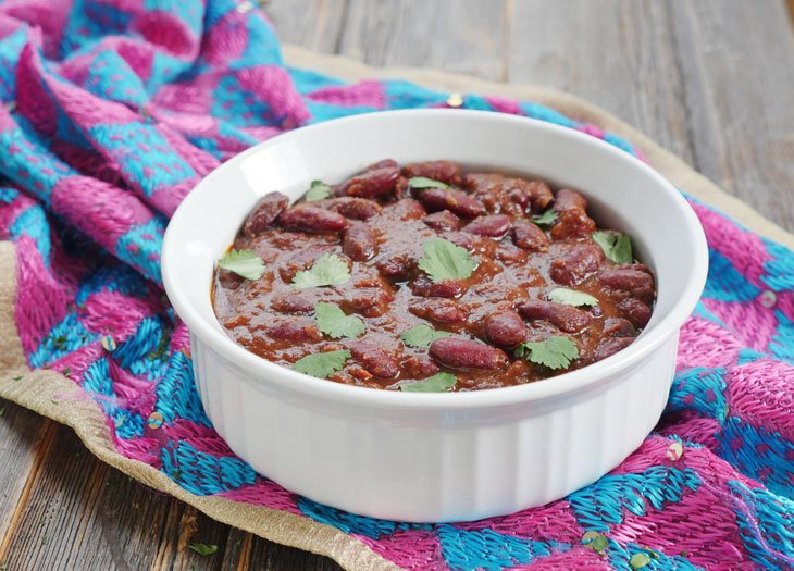 Instant Pot Rajma Indian Kidney Bean Curry