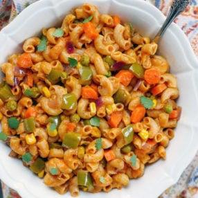 Instant Pot Indian Vegetable Masala Pasta