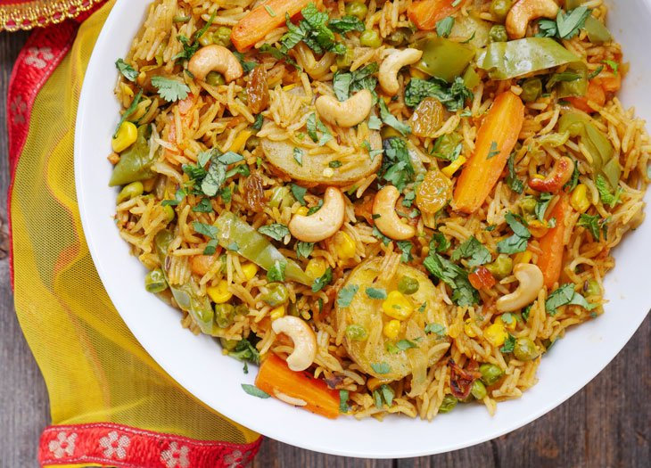 Instant Pot Vegetable Biryani My Heart Beets