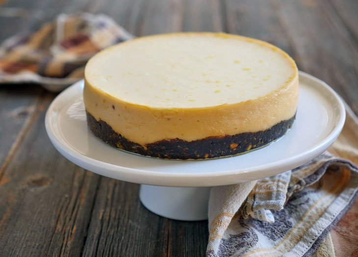 2-ingredient Cheesecake (Instant Pot Indian Cheesecake)