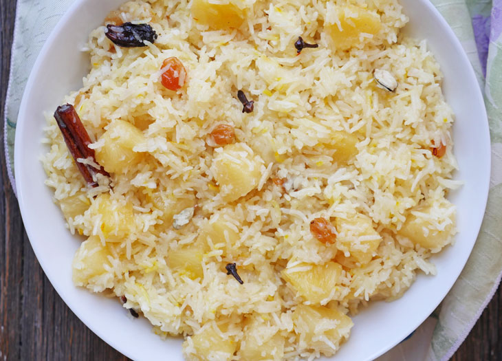 Instant Pot Meethe Chawal