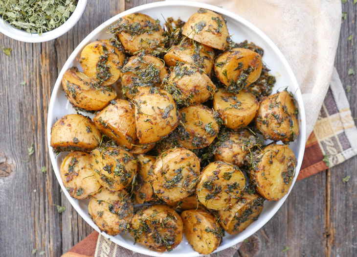 instant pot aloo methi