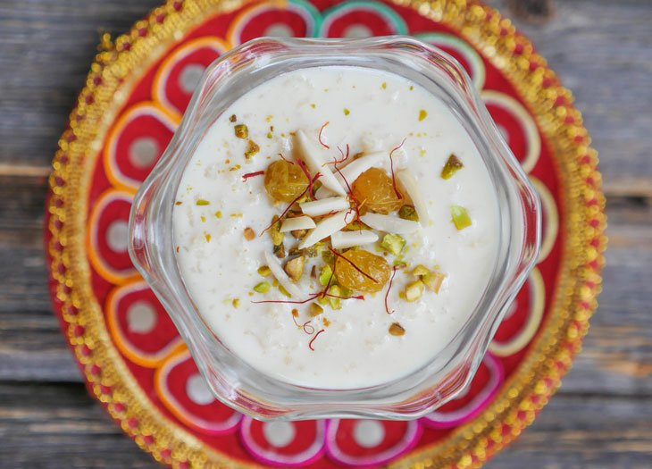 Instant Pot Kheer (Indian Rice Pudding)