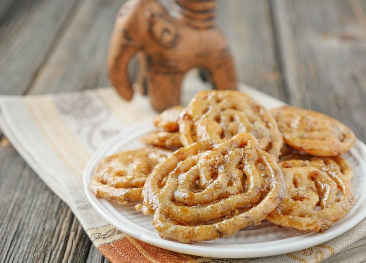 gluten-free jalebi