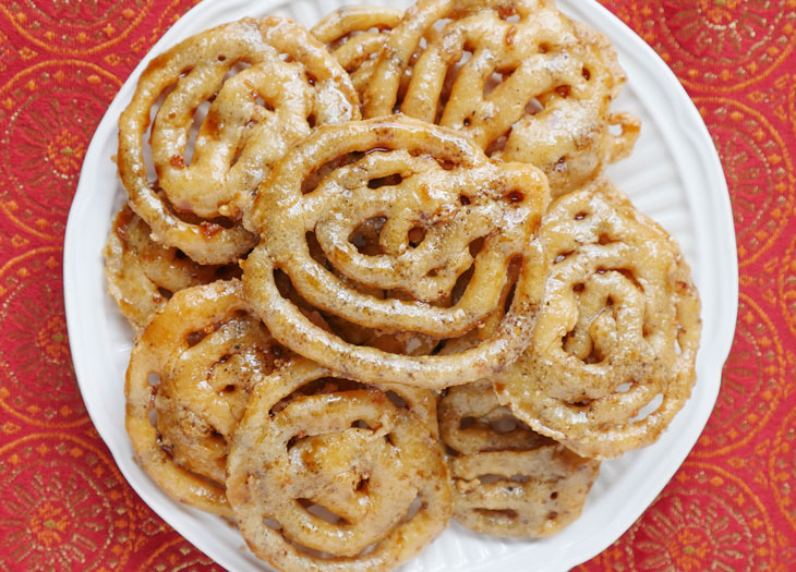 Gluten-free Jalebi (paleo, vegan, grain-free)