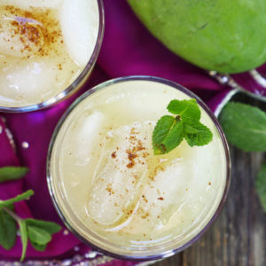 Instant Pot Aam Panna (green mango drink) by myheartbeets.com