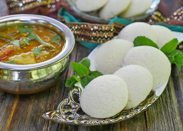 Instant Pot Sambar and Idli